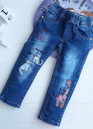 Стильные и красивые джинсы для девочки