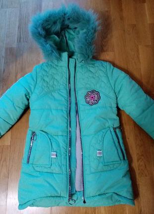 Зимова курточка для дівчаток