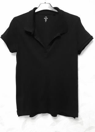Базовая футболка, поло, 46-48, хлопок, c&a