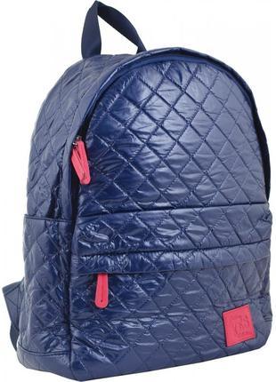 Рюкзак yes молодежный синий №553943. размер 35*27*11