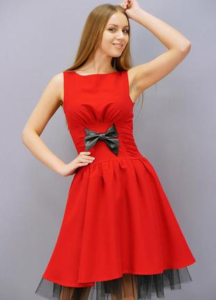 Плаття габардинове