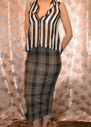 Шикарная юбка карандаш dorothy perkins