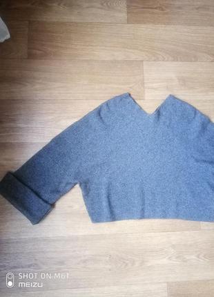 Кроп свитер , укороченый свитер