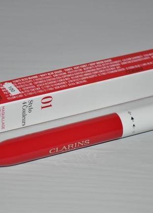 Четырехцветная ручка-подводка для глаз и губ clarins stylo 4 couleurs