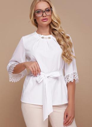 Нарядная блуза 42-54 р