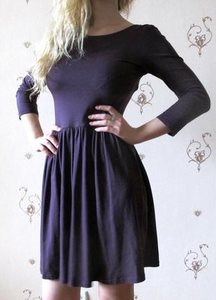 Бордовое платье asos