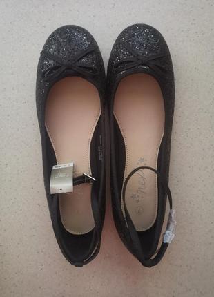 Туфли для девочки next 26 см.