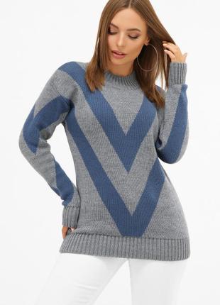 Женский вязаный свитер №171 marse