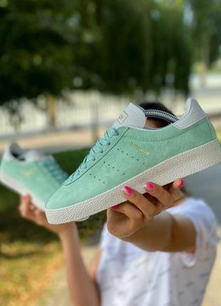 Мятные кроссовки / кроссовки adidas / кеды