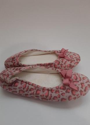 Indoor shoes короткие тапочки