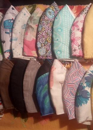 Маски текстильные