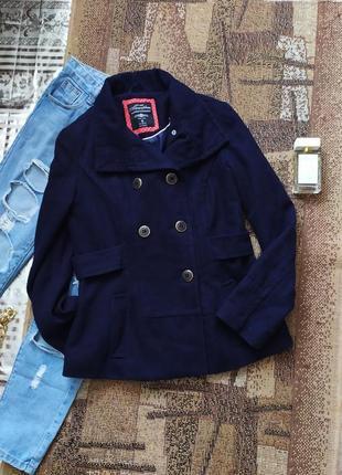 Пальто шерстяное теплое / куртка / пиджак / трендовое базовое