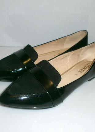 3031 туфли jones / 39 кожа