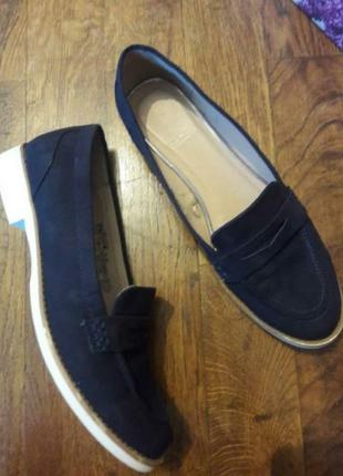 Стильні туфли лофери від f&f, 37р