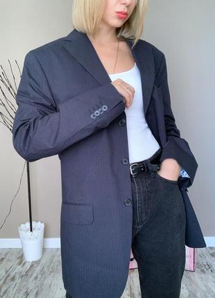 Пиджак с мужского плеча massimo dutti