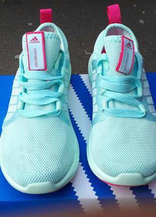 Adidas climacool bounce бирюза размеры 36-41 лето дышащая подошва