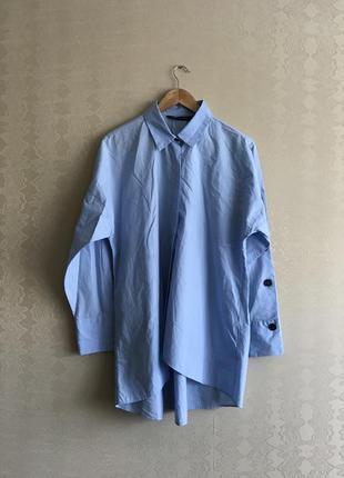 Оверсайз рубашка zara
