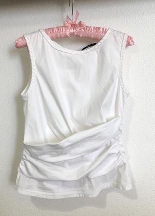 Блузка з драпировкой hugo boss xs оригинал