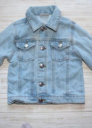 Джинсовая куртка matalan на 5лет