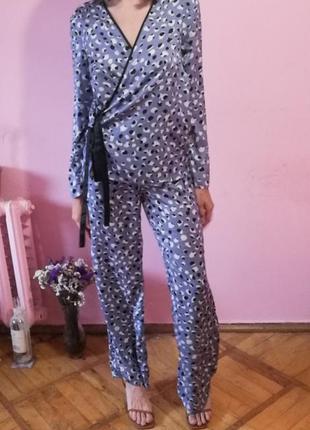 Костюм брючный брюки костюм в бельевом стиле