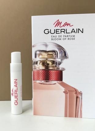 Mon guerlain bloom of rose eau de parfum пробник