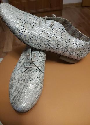 Туфли женские, летние rieker. кожа.