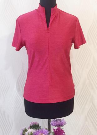 Футболка блуза ягодного цвета gianfranco ferre jeans оригинал