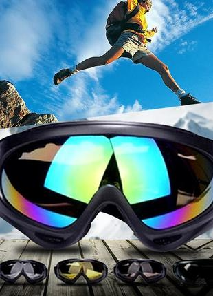 Крутые лыжные очки, маска сноуборд лыжи