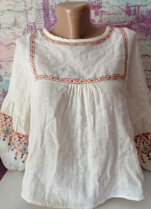 Шикарная блузка zara