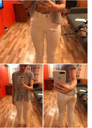 Белые джинсовые штанишки 🌼