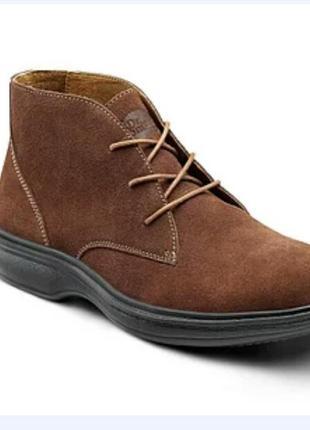 Ботинки замшевые dr. comfort