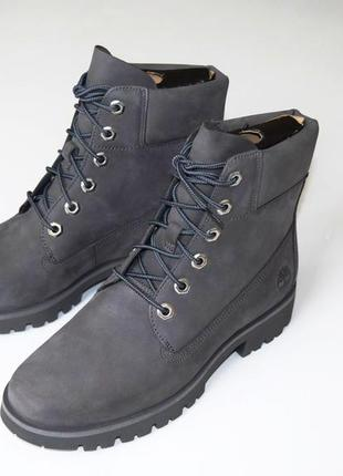 Кожаные демисезонные ботинки timberland оригинал!