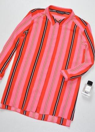 Очень красивая,яркая,цветная блуза в полоску