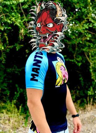 Рашгард manto, футболка компрессионная, футболка спортивная