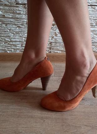 Шикарные замшевые туфли tiger of sweden