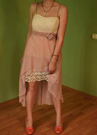 Итальянское вечернее платья