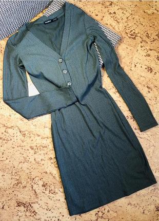 Платье по фигуре утягивающее