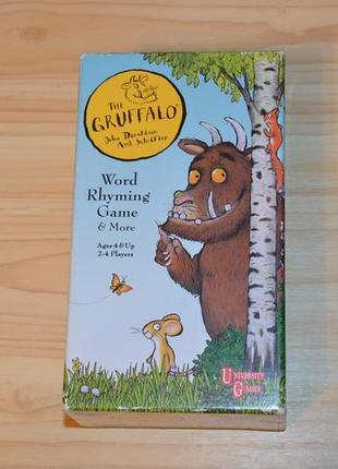 The gruffalo word rhyming game, детская игра на английском языке