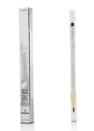 Lancome – le lip liner водостойкий карандаш для губ с кистью