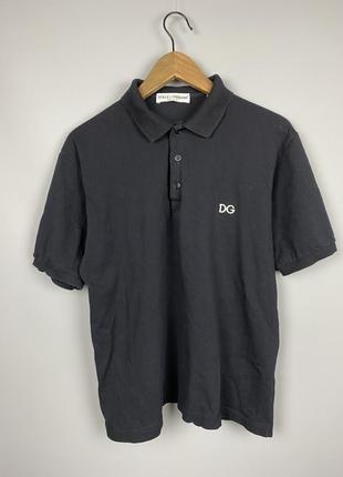 (m-l) dolce & gabbana футболка поло
