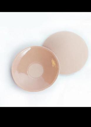 Многоразовые силиконовые накладки наклейки пэстис стикини на тканевой основе