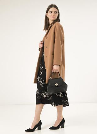 Шикарное женское пальто season виктория-1 цвета кэмэл
