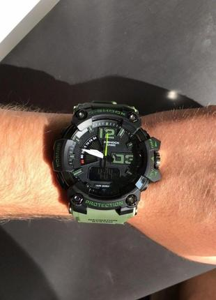 Casio g-shock black and green 011