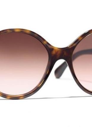 Chanel round sunglasses/оригинальные очки шанель