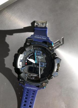 Casio g-shock black and dark blue 009
