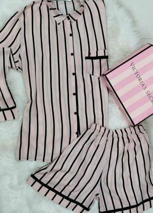 Пижама для дома и сна с шортами, люкс качество 💖 размер л.скидки🔥.