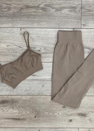 Бесплатная доставка🚚 natural топ,лосины,бесшовная одежда