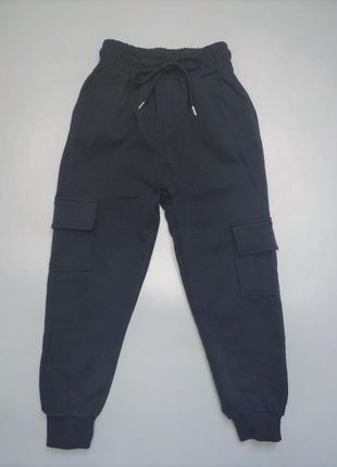 Спортивные штаны с карманами для мальчика
