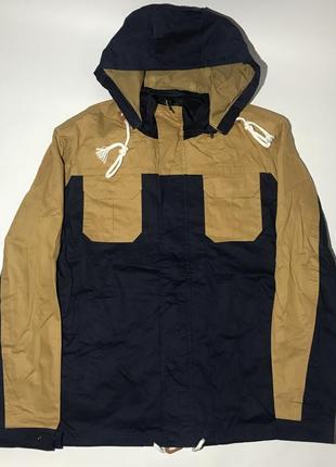 Мужская куртка (парка) с капюшоном, маломерка. весна-осень. размеры : s, m, l, xl.