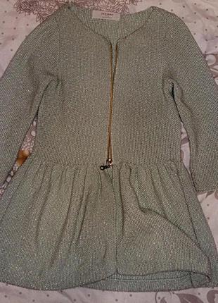 Кофточка/кардиган zara knit